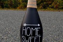 garrafas e frascos