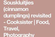 Cinnamon dumplings