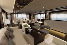 Luxury Interior Yacht Designs / Allow your inner luxury designs flow on the water in a private yacht #Yacht #Luxury #LuxuryLiving