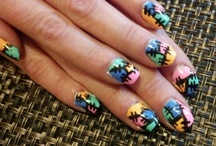 Tiffany's nail work / by Heather Holtzinger