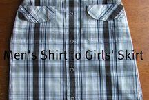 Redesign av skjorter / Inspirasjon til elevoppgave