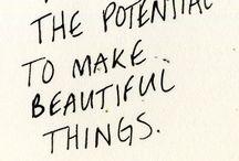 Une Pensée Positive - Mantra - Citation