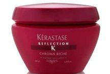 Productos Kerastase / Los productos de màxima confianza que se utilizan en nuestra firma