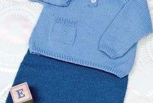 tricot pantalon bebe