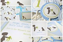 Wade's 2nd birthday party ideas / by Krissy Young
