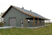 steel barn