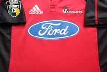 Classic Crusaders Rugby Shirts / Classic, vintage & retro authentic Crusaders rugby shirts from the past 30 years. Legendary players and seasons from yesteryear.  Worldwide Shipping   Free UK Delivery
