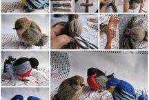 ptáčci z vlny