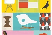 Plakater møbel