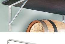 Regale für Keller / Garage / Vorratskammer / Einrichtungs-Ideen für Keller, Garage, Vorratskammer und Abstellraum