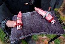 Zombie Wedding Themed