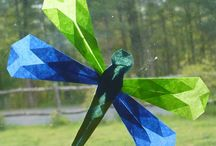Dragonfly crafts for kids / by Roberta Gibson