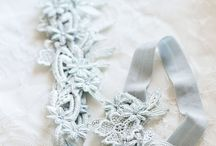 Bridal: Garters / Here are ideas and inspirations for bridal garters, from delicate lace to bohemian glamour to superhero