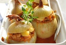 Tasty onions / uien