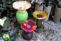 Glass Garden Art / by Jill Hargis