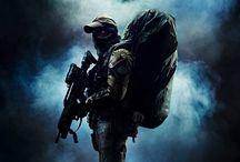 Wojsko, strzelectwo, taktyka, sprzęt