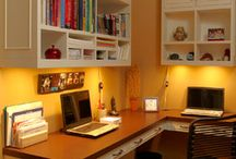 New Home Office / by Leslie Gordon