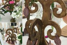 Cocoa Tree / Edible table decoration.