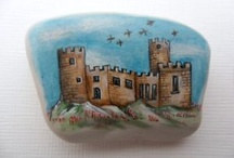 Hand painted sea pottery
