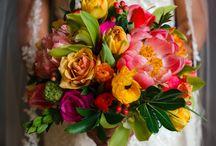 Brides Bouquet - Coral