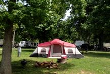 Lakeshore Camping at Conley Bottom / Camping on Lake Cumberland from the banks of Conley Bottom Resort in Monticello Ky
