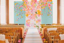 Paper Floral Decorations