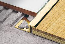 Floor & Wall Trim details
