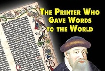 Johannes Gutenberg the Printer / Johannes Gutenberg the Printer - old-school images and videos about Johannes Gutenberg, movable type and the invention of the printing press. / by Markzware