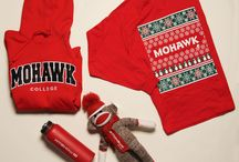 #MohawkSwag Campus Store Merch / Some #MohawkSwag gift Ideas available at the Campus store!  Discover more http://mohawk.bookware3000.ca/