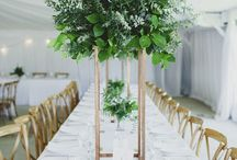 greenery wedding inspiration / Its all about the foliage!