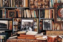 { book shelf }