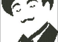 Krížiková výšivka - Poirot