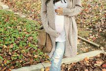 Grávidas estilosas e babys
