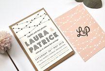 Weddings invites