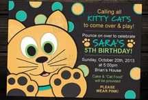 Kitten party ideas / by Tina Hussey