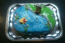 torta / Wedding, cake, fish