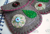 Felt projects / Craft