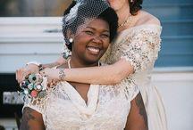 Casamento Homoafetivo / Lindas referências para casamento gay, casamento lésbico, casamento LGBT, casamento homoafetivo <3