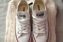 white all stars-converse