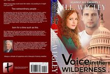 1 Voice in the Wilderness - Against All Enemies / Voice in the Wilderness - an inspirational, political thriller, with romance, about a neo-Marxist president, in centrist's clothing, who plans to take the nation into tyranny, and the young man and woman who start a resistance movement to stop him.