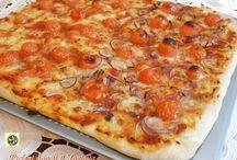 Pizza facile senza impasto
