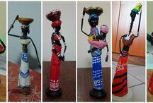 Afrikanske dukker