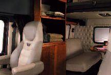 Truck interiors