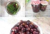 préparation des olives