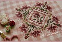 The Sweetheart Tree Cross Stitch