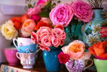 """"""" Composizioni floreali """" / """" secondo me, un fiore in casa non deve mancare, che sia del proprio giardino o di campo selvatico, ancora meglio.....dà un senso di calore che non fa mai male """""""