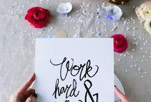 lettering :: hand written