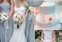 Wedding Inspiration; colour schemes, DIY & Craft / Wedding inspiration; DIY ideas, colour schemes and novel decorations