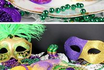 Mardi Gras / Our favorite Mardi Gras recipes, party ideas, decorations, and fresh floral arrangements for the festive holiday! Mardi Gras is February 28th. http://www.theflowerbucket.com/