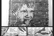 kresba na novinách